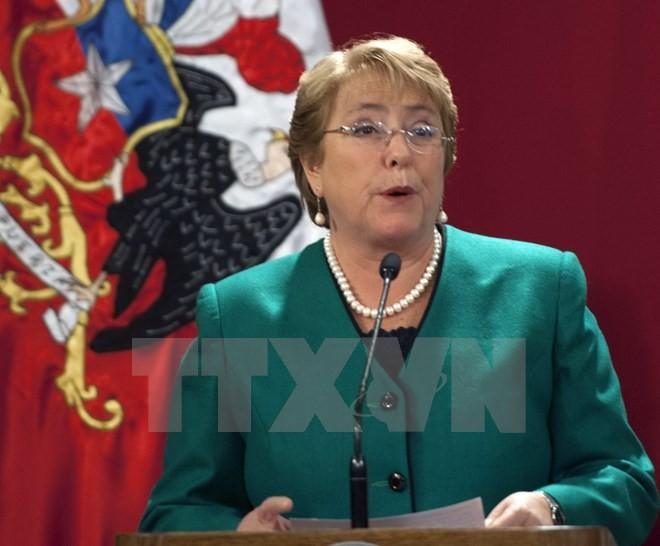 Chiles Präsidentin Bachelet bekräftigte die Wichtigkeit des TPP - ảnh 1