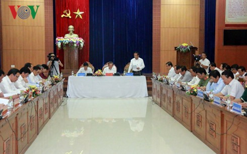 Vize-Premierminister Truong Hoa Binh besucht die Provinz Quang Nam - ảnh 1