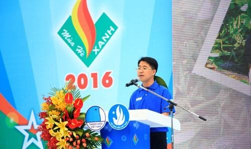 "100.000 Freiwillige nehmen an Kampagne ""Blausommer"" in Ho Chi Minh Statdt teil - ảnh 1"