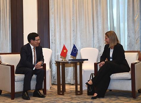 Vietnam will die Zusammenarbeit mit der EU fördern - ảnh 1