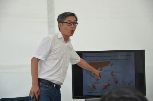 Vietnamesische Jugendliche in Europa diskutieren Urteil des PCA über das Ostmeer - ảnh 1