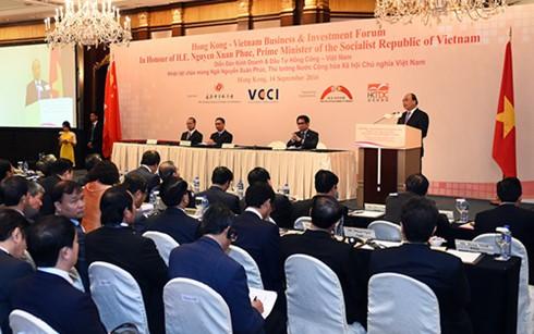 Vietnam schafft günstiges Investitions- und Geschäftsumfeld für Hongkongs Investoren - ảnh 1