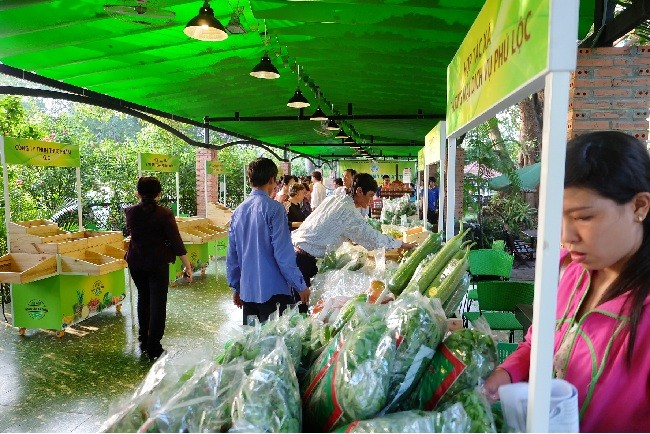 Landwirtschaftliche Markttage in Ho Chi Minh Stadt - ảnh 1