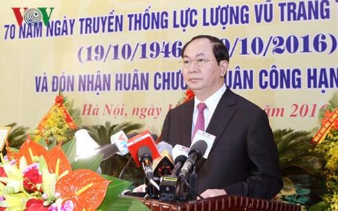 Hanoier Streitkräfte sollen professioneller, kampferprobter und moderner werden - ảnh 1