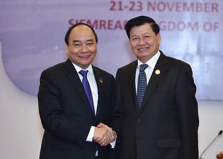 Vietnam und Laos verstärken ihre traditionell besonderen Beziehungen - ảnh 1