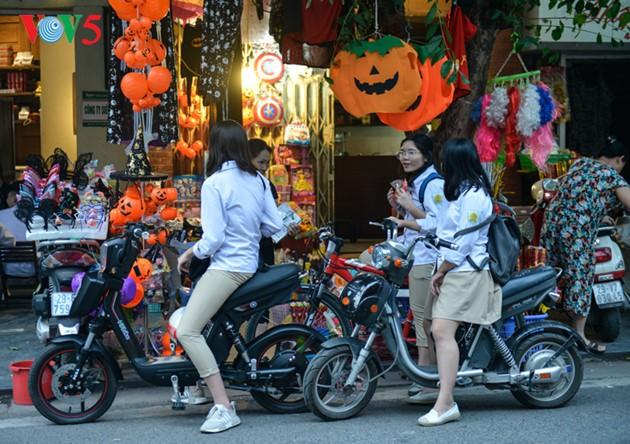 Hanoi vor Halloween - ảnh 13