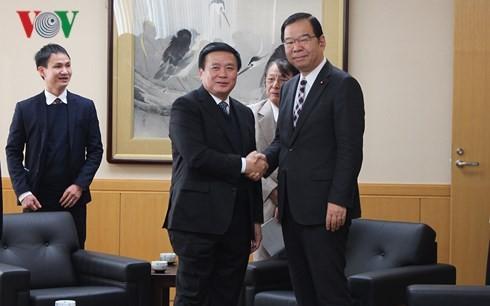 Verstärkung der Zusammenarbeit zwischen Vietnam und Japan - ảnh 1