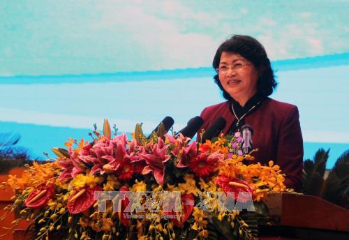 Dang Thi Ngoc Thinh nimmt an Bilanzkonferenz über Wettbewerbe und Auszeichnungen teil - ảnh 1
