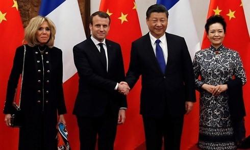 China und Frankreich wollen bilaterale Beziehungen verstärken - ảnh 1