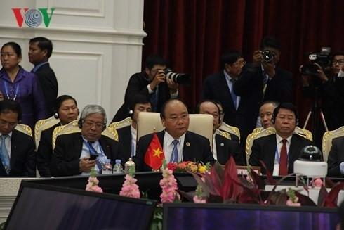 Nguyen Xuan Phuc gibt neue Impulse zur Lancang-Mekong-Zusammenarbeit - ảnh 1