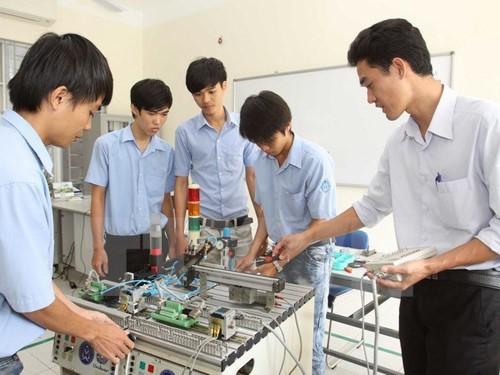 Förderung des Startup-Geists der Schüler und Studenten in Berufsbildungsstätten - ảnh 1