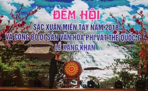Feier zur Veröffentlichung des Xang Khan-Festes als nationales immaterielles Kulturerbe - ảnh 1