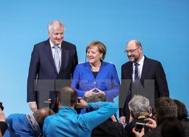 GroKo-Gespräche in Deutschland: Anstrengungen zur Lösung der letzten Konflikte - ảnh 1