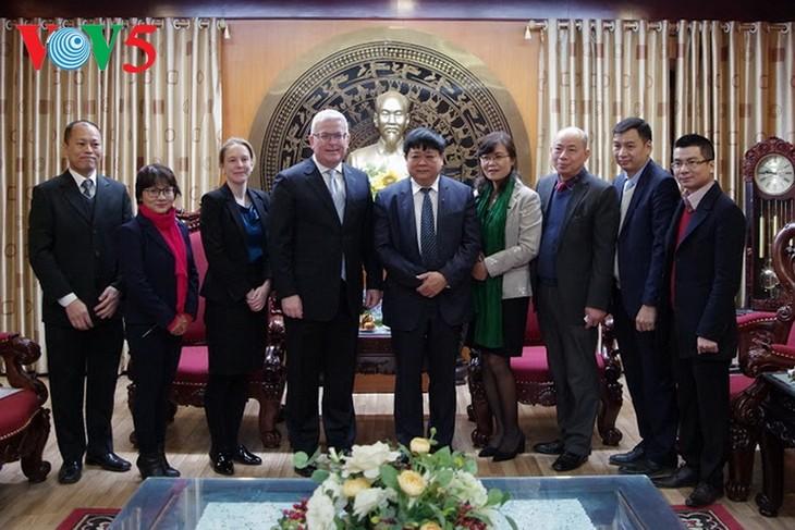 Verstärkung der Zusammenarbeit im Hörfunkbereich zwischen Vietnam und Australien - ảnh 1
