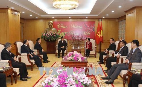 Truong Thi Mai trifft Vertreter des vietnamesischen Protestantenvereins - ảnh 1