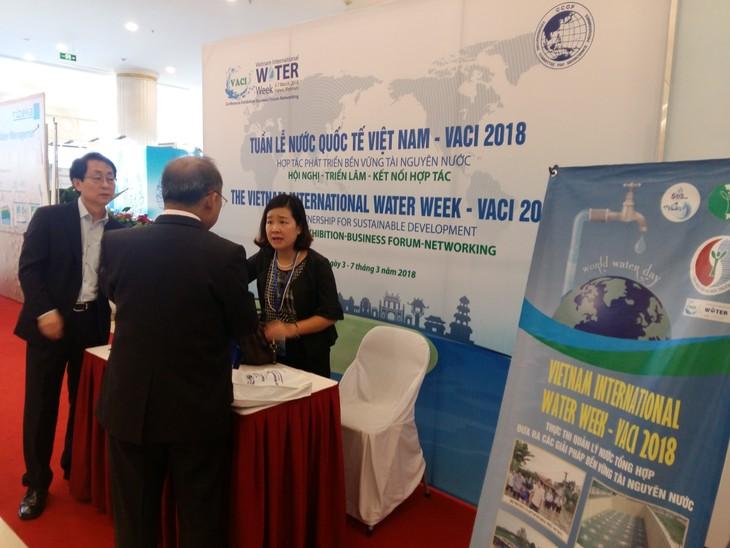 Eröffnung der Weltwasserwoche Vietnam 2018 - ảnh 1