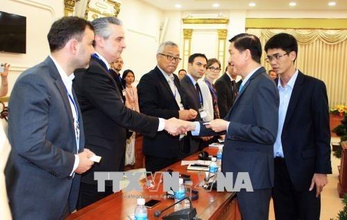 Zusammenarbeit zwischen Ho Chi Minh Stadt und französischen Verkehrs-Unternehmen - ảnh 1