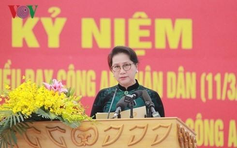 Offiziere und Polizisten lernen nach sechs Ratschläge von Präsident Ho Chi Minh - ảnh 1