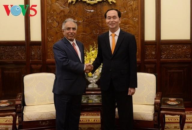 Staatspräsident Tran Dai Quang empfängt den saudiarabischen Botschafter - ảnh 1
