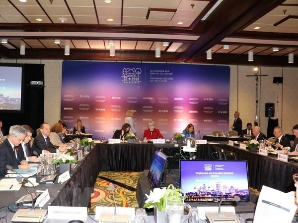 G7-Ministertreffen: Einigung auf Technologieerneuerung und Arbeitsplätze für Zukunft - ảnh 1