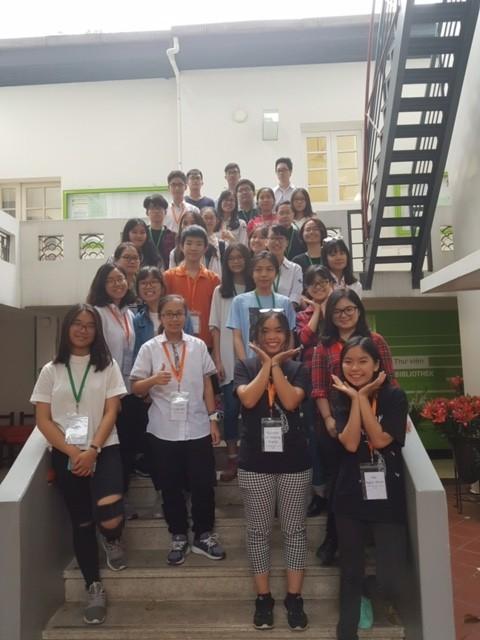 Vorrunde der IDO: Chance zum Austausch zwischen vietnamesischen Deutschlernern - ảnh 1