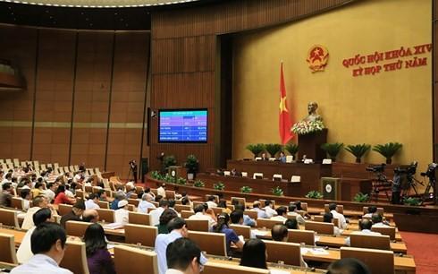 Pressekonferenz über Ergebnisse der 5. Parlamentssitzung - ảnh 1