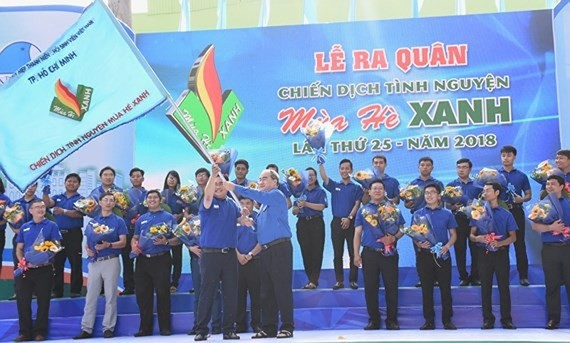 Ho Chi Minh Stadt: Über 60.000 Studenten beteiligen sich an freiwilliger Kampagne - ảnh 1