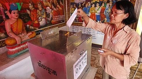 Kambodscha steht vor einer bevorstehenden wichtigen Parlamentswahl - ảnh 1