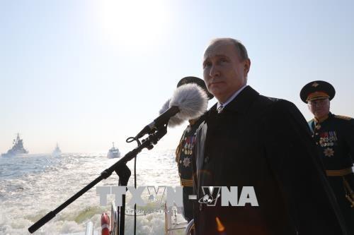 Russische Flotte wird 26 neue Schiffe bis zum Jahresende erhalten - ảnh 1
