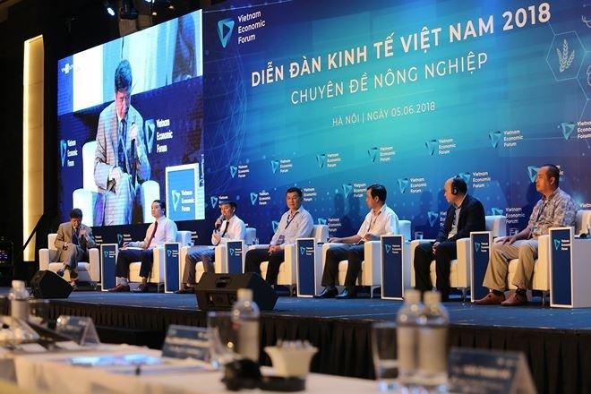 Vizepremierminister Vuong Dinh Hue nimmt an Forum über Kapital- und Finanzmarkt teil - ảnh 1