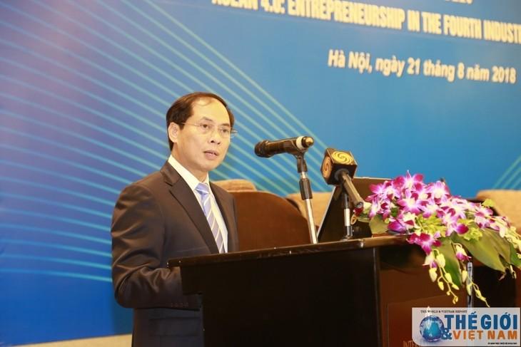 Vietnamesische Unternehmen passen sich an die 4. industrielle Revolution an - ảnh 1