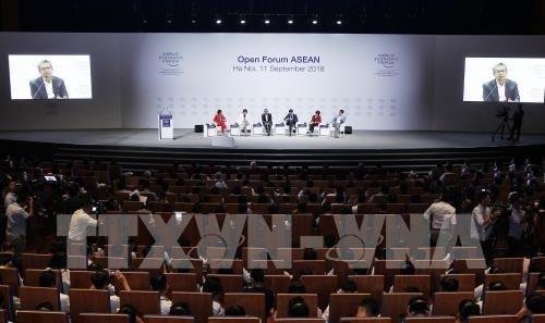 """WEF-ASEAN 2018: offenes Forum """"ASEAN 4.0: Chance für alle"""" - ảnh 1"""