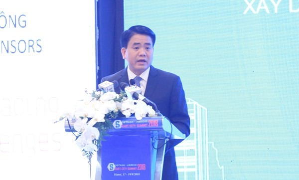 Smart City Summit 2018 in Hanoi - ảnh 1