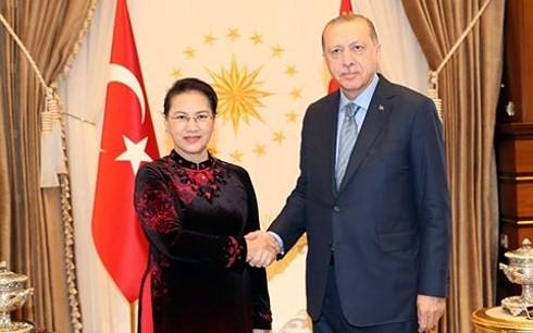 Nguyen Thi Kim Ngan beendet ihre Teilnahme an MSEAP 3 und Türkei-Besuch - ảnh 1