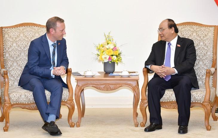 Intensivierung der strategischen Partnerschaft zwischen Vietnam und Großbritanien - ảnh 1