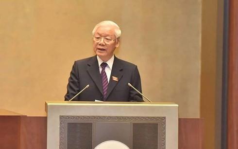 Der Staatspräsident legt dem Parlament Vorlage zur Ratifizierung des CPTPP - ảnh 1