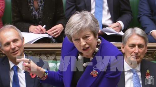 Theresa May sucht Unterstützung europäischer Unternehmenschefs für Brexit-Plan - ảnh 1