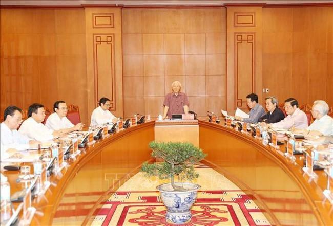 Sitzung der Unterabteilung für Dokumente des 13. Parteitages - ảnh 1