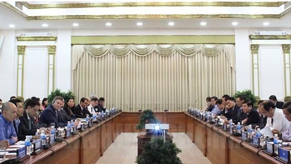 Ho Chi Minh Stadt lockt US-Unternehmen im intelligenten Verkehr an - ảnh 1