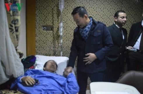 Drei Vietnamesen sind beim Anschlag auf Touristenbus ums Leben gekommen - ảnh 1