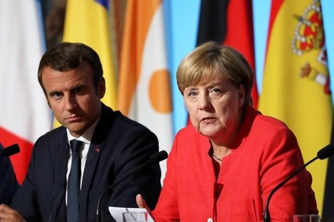 Frankreich und Deutschland rufen zur umfassenden Einhaltung des Waffenstillstands in der Ukraine auf - ảnh 1