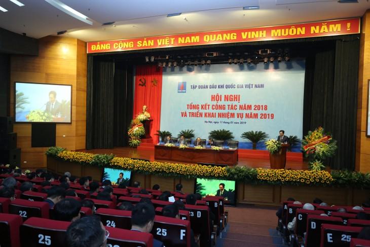 Premierminister Nguyen Xuan Phuc nimmt an Bilanzkonferenz von PVN teil - ảnh 1