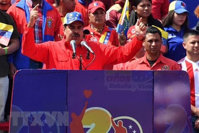 Venezuela veröffentlicht Beweise über Verschwörung gegen Maduros Regierung - ảnh 1