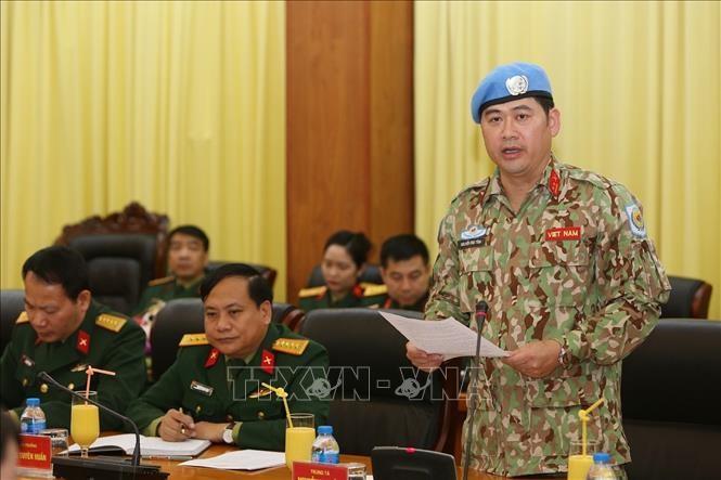 Ein weiterer vietnamesischer Offzier beginnt den Einsatz für UN-Friedensmission in Südsudan - ảnh 1