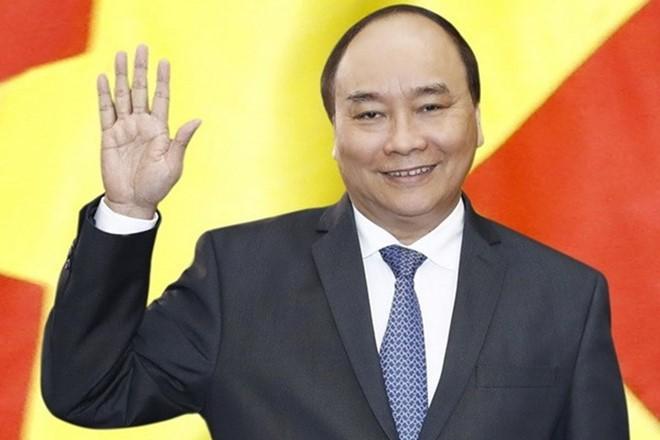 """Premierminister Nguyen Xuan Phuc nimmt am Forum """"Ein Gürtel und eine Straße"""" teil - ảnh 1"""