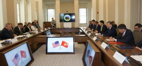 Hochrangiges Gespräch zwischen  vietnamesischem Ministerium für öffentliche Sicherheit und dem US-Innenministerium - ảnh 1