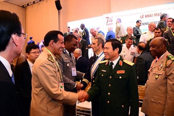Vollversammlung des Internationalen Militärsportverbandes in Ho Chi Minh Stadt - ảnh 1