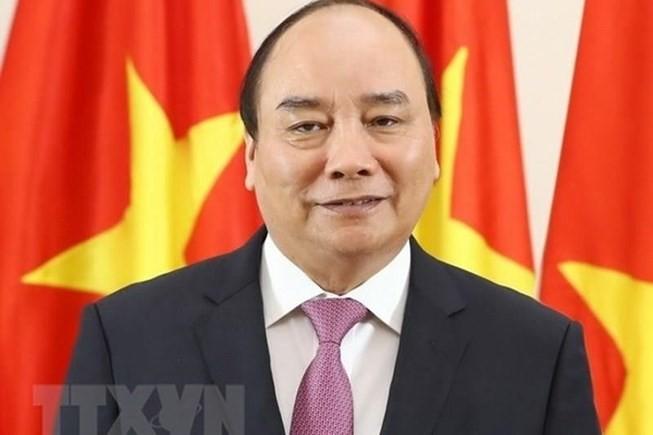 Premierminister Nguyen Xuan Phuc ist in Peking eingetroffen - ảnh 1