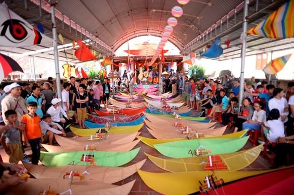 Drachen-Festival im Dorf Ba Duong Noi - ảnh 1