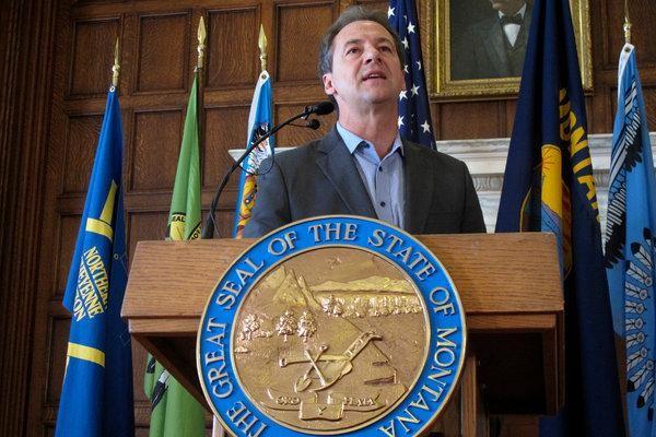 Gouverneur von Montana Steve Bullock Kandidat der US-Demokraten für Präsidentschaft - ảnh 1